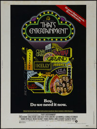 """That's Entertainment! (MGM, 1974). Poster (30"""" X 40""""). Musical. Directed by Jack Haley, Jr. Starring Fred Asta..."""