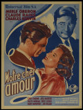 """Movie Posters:Drama, This Love of Ours (Universal, 1945). French Petite (23.5"""" X 31.5""""). Drama. Directed by William Dieterle. Starring Merle Ober..."""