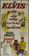 """Movie Posters:Musical, Tickle Me (Allied Artists, 1965). Three Sheet (41"""" X 81""""). MusicalComedy. Directed by Norman Taurog. Starring Elvis Presley..."""