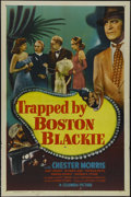 """Movie Posters:Mystery, Trapped by Boston Blackie (Columbia, 1948). One Sheet (27"""" X 41""""). Mystery. Directed by Seymour Friedman. Starring Chester M..."""