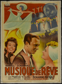 """Traummusik (Tobis-Filmverlieh, 1940). French Poster (31.5"""" X 44""""). Romance. Released in France as """"Musiqu..."""