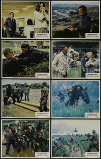 """Uncommon Valor (Paramount, 1983). Lobby Card Set of 8 (11"""" X 14""""). War. Directed by Ted Kotcheff. Starring Gen..."""