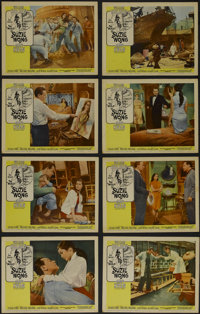 """The World of Suzie Wong (Paramount, 1960). Lobby Card Set of 8 (11"""" X 14""""). Romantic Drama. Directed by Richar..."""