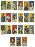 Baseball Cards:Lots, 1909-11 T206 Group Lot of 21. Twenty one cards from the extremely popular tobacco issue: Emil Batch, Bill Bradley (portrai...