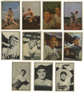 Baseball Cards:Lots, 1953 Bowman Baseball Group Lot of 44. Fine assortment of 44 cardsfrom Bowman's 1953 color and black-and-white issues. Hig...