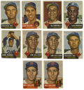 Baseball Cards:Lots, 1953 Topps Baseball Group Lot of 112. Known for its exceptional art, the 1953 Topps issue ranks high among vintage cardboar...