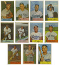 Baseball Cards:Lots, 1954 Bowman Baseball Group Lot of 160. Colorful set known for itswonderful photography, the 1954 Bowman issue exhibits a c...
