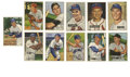 Baseball Cards:Lots, 1951-54 Bowman Baseball Group Lot of 84. Here we offer a nicesampling of 84 cards from Bowman's early 1950s issues. Highl...