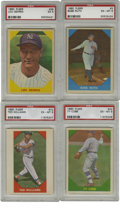 Baseball Cards:Sets, 1960 Fleer Complete Set (79), PSA-Graded Lot of 4. The 1960 Fleer issue focuses on HOFers and baseball greats of the past, ...