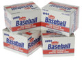 Baseball Cards:Sets, 1986 Fleer Update Factory Set Lot of 4. Four factory boxes from the 1986 Fleer Update issue. One of the tougher Barry Bonds... (Total: 4 Items)