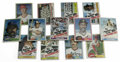 Baseball Collectibles:Others, 1979-81 Topps Sealed Cello Packs Lot of 13. A bakers dozen of Toppscello packs is offered here, with packs from the 1979 a... (Total:13 Items)