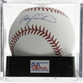 Autographs:Baseballs, Gary Carter Single Signed Baseball, PSA Mint+ 9.5. HOF catcher hasapplied a perfect signature to the provided OML baseball...
