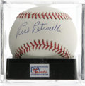 Autographs:Baseballs, Rico Petrocelli Single Signed Baseball, PSA NM-MT+ 8.5. Long-timemember of the Boston Red Sox infield Rico Petrocelli chec...