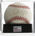 Autographs:Baseballs, Dan Quayle Single Signed Baseball, PSA NM-MT 8. Politician DanQuayle has left this ONL (Coleman) baseball with his sweet s...