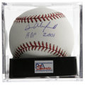 "Autographs:Baseballs, Dave Winfield ""HOF 2001"" Single Signed Baseball, PSA Gem Mint 10.Twenty-two seasons and not one day in the minors? The tr..."