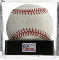 Autographs:Baseballs, 1992 Los Angeles Dodgers Team Signed Baseball, PSA NM-MT 8. ONL (White) baseball has been signed by 29 members of the 1992 ...