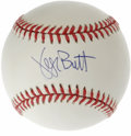 Autographs:Baseballs, George Brett Single Signed Baseball. George Brett played baseballwith an intensity that is rarely seen in all of sports, a...