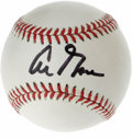 Autographs:Baseballs, Al Gore Single Signed Baseball. The OAL (Budig) ball here offers abold black sharpie sweet-spot signature from the politic...