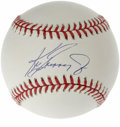 Autographs:Baseballs, Ken Griffey, Jr. Single Signed Baseball. As he approaches the topten on the all-time home runs list, Ken Griffey, Jr. soli...