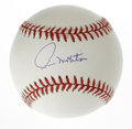 Autographs:Baseballs, Paul Molitor Single Signed Baseball. Paul Molitor, one of thenewest inductees into Cooperstown, has provided this OAL (Bud...