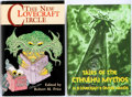 Books:Science Fiction & Fantasy, [H.P. Lovecraft]. Two Titles, including: The New Lovecraft Circle. Minneapolis: Fedogan and Bremer, 1996. First edition.... (Total: 2 Items)