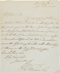 Autographs:Non-American, William IV of England Autograph Letter Signed.... (Total: 2 Items)
