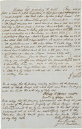 Miscellaneous:Ephemera, [Slavery]. Estate Inventory for Charles Hedges....