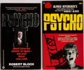 Books:Horror & Supernatural, Robert Bloch. Psycho. Two (2) Mass Market PaperbackEditions, Both First Printings. Publisher's printed ... (Total: 2Items)