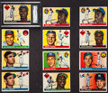 Baseball Cards:Lots, 1955 Topps Baseball Collection (157). ...