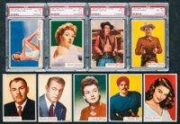 """1953 Topps """"Who-Z-AT Star?"""" Collection (127)"""