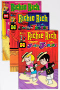 Bronze Age (1970-1979):Cartoon Character, Richie Rich and Jackie Jokers File Copy Group (Harvey, 1970s-80s)Condition: Average NM-.... (Total: 106 Comic Books)