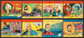 "Non-Sport Cards:Sets, 1939 R67 W.S. Corporation ""Heroes of the Sea"" Complete Set (24)...."