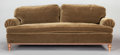 Furniture , AN EDWARDIAN-STYLE MOHAIR UPHOLSTERED SOFA. Second half 20th century. 32 x 95 x 41 inches (81.3 x 241.3 x 104.1 cm). ...