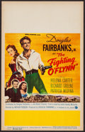 """Movie Posters:Action, The Fighting O'Flynn (Universal International, 1949). Window Card (14"""" X 22""""). Action.. ..."""