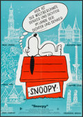 """Movie Posters:Animation, Snoopy, Come Home! (20th Century Fox, 1972). German A1 (23"""" X 33"""").Animation.. ..."""