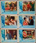 """Movie Posters:Horror, Circus of Horrors (American International, 1960). Lobby Cards (6) (11"""" X 14""""). Horror.. ... (Total: 6 Items)"""