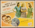 """Movie Posters:Mystery, Girls of the Big House (Republic, 1945). Half Sheet (22"""" X 28"""")Style B. Mystery.. ..."""