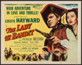 "Movie Posters:Adventure, The Lady and the Bandit (Columbia, 1951).Half Sheet (22"" X 28"").Adventure.. ..."