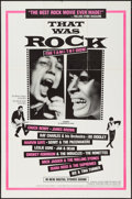 "Movie Posters:Rock and Roll, That Was Rock (American International, 1984). One Sheet (27"" X41""). Rock and Roll.. ..."