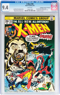 X-Men #94 Don/Maggie Thompson Collection pedigree (Marvel, 1975) CGC NM 9.4 White pages