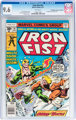 Iron Fist #14 Don/Maggie Thompson Collection pedigree (Marvel, 1977) CGC NM+ 9.6 White pages