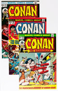 Bronze Age (1970-1979):Adventure, Conan the Barbarian Short Box Group (Marvel, 1973-81) Condition: Average FN/VF....