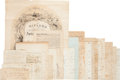 Autographs:Statesmen, [Treaty of Ghent]. Henry Carroll Papers,...