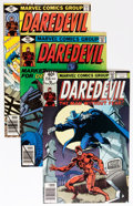 Modern Age (1980-Present):Superhero, Daredevil Short Box Group (Marvel, 1979-88) Condition: AverageVF/NM....
