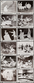 "Movie Posters:Animation, Cinderella (Columbia, R-1957). Spanish Photos (12) (8"" X 10""). Animation.. ... (Total: 12 Items)"