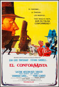 """Movie Posters:Foreign, The Conformist (Paramount/CIC, 1971). Spanish One Sheet (27.5"""" X 41"""") & One Sheet (27"""" X 41"""") Regular & Style A. Foreign.. ... (Total: 2 Items)"""
