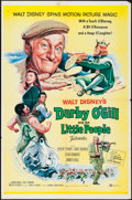 "Movie Posters:Fantasy, Darby O'Gill and the Little People (Buena Vista, 1959). One Sheet(27"" X 41""). Fantasy.. ..."