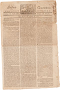 Miscellaneous:Newspaper, [Newspaper]. The Boston Gazette and Country Journal....