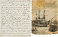 Autographs:Non-American, Admiral Sir Charles Bullen Autograph Letter Signed... (Total: 2 )