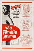 """Movie Posters:Adult, The Female Animal (1960s). One Sheet (27"""" X 41"""").Sexploitation. .. ..."""
